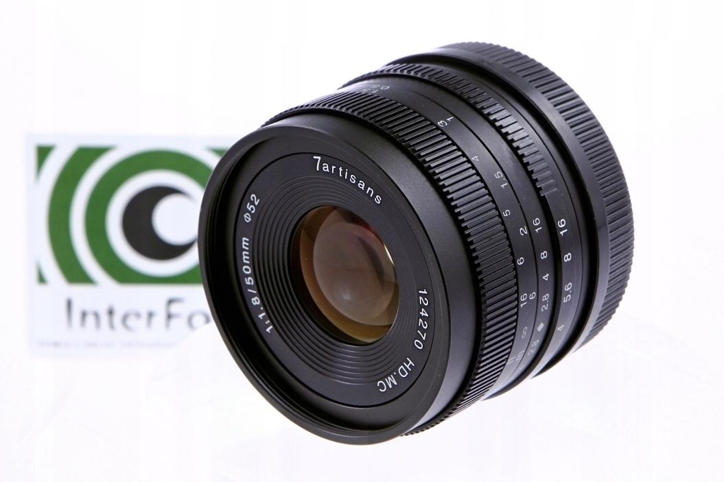 Купить 7Artisans 50mm F1.8 Canon EOS-M - Официальный магазин! на Otpravka - цены и фото - доставка из Польши и стран Европы в Украину.