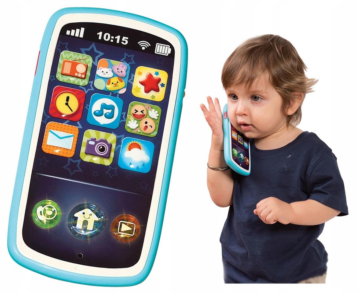 Detský interaktívny telefón Smily SMARTPHONE