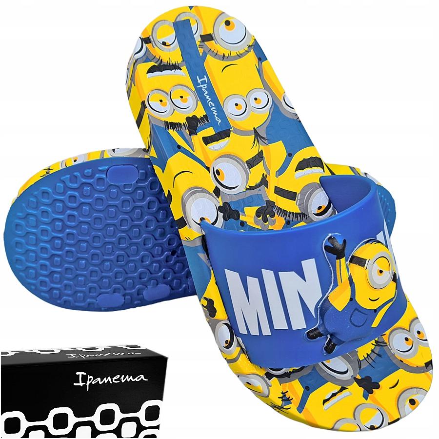 Купить IPANEMA Синие спортивные тапочки Minions 33/34 на Otpravka - цены и фото - доставка из Польши и стран Европы в Украину.