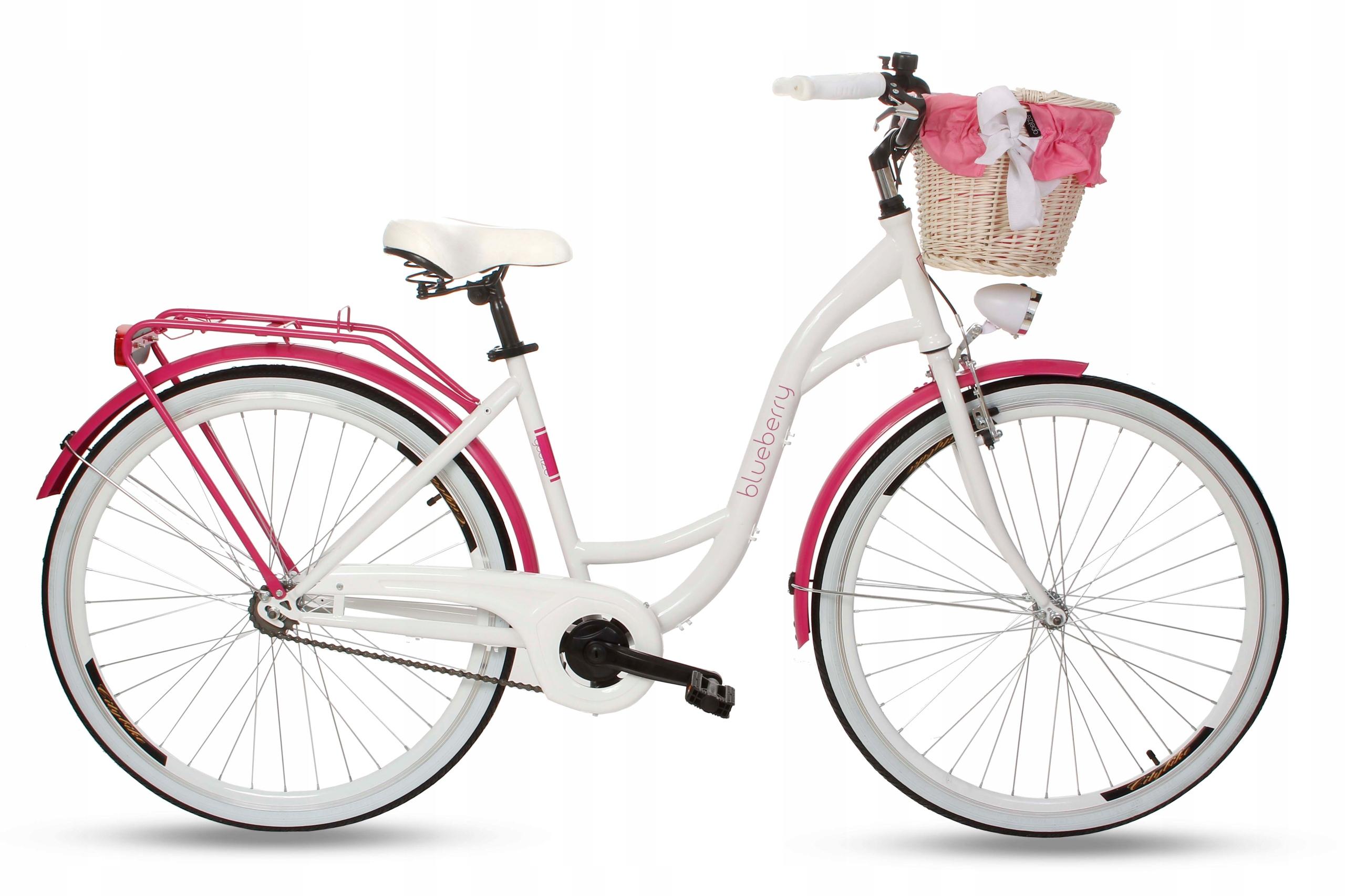 Dámsky mestský bicykel Goetze BLUEBERRY 28 košík!
