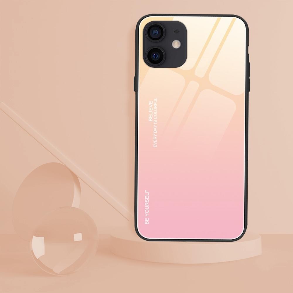 Etui do iPhone 12 Case Glass + Szkło 9H Kod producenta G17