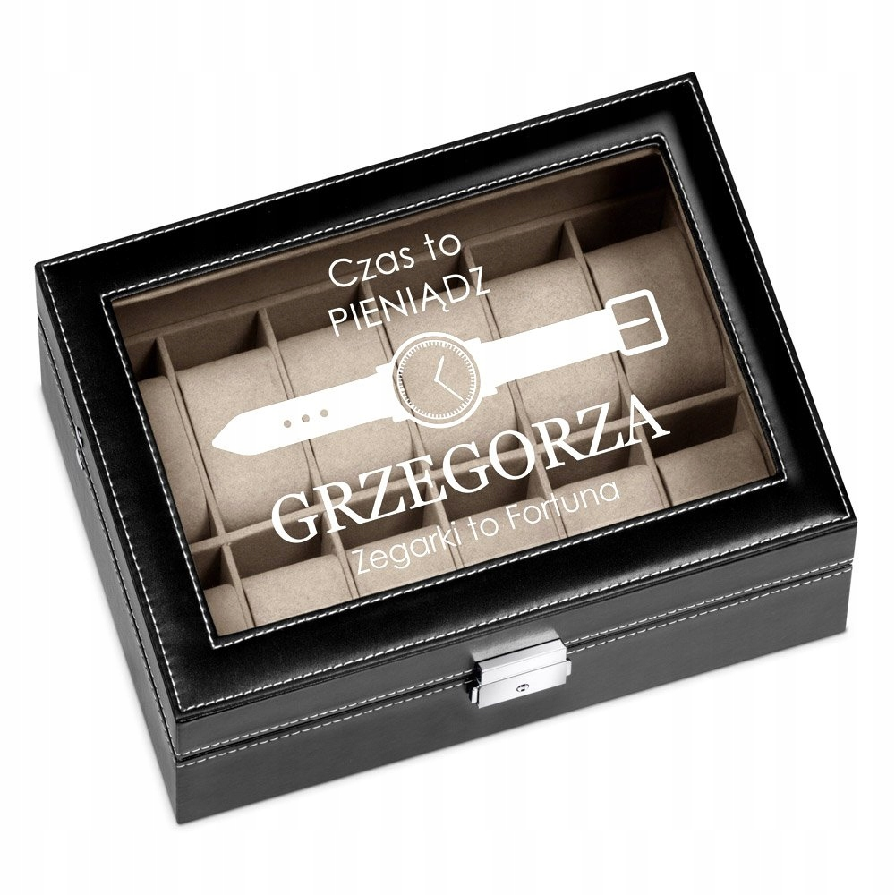 Item BOX ENGRAVING ON WATCH CASE BOX ORGANIZER