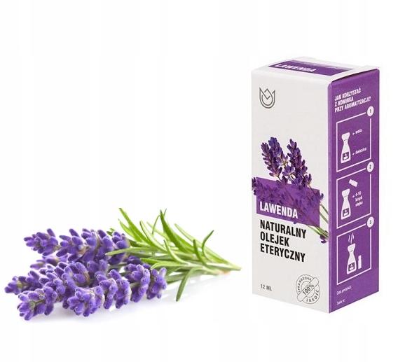 Olejek eteryczny NATURALNY 12ml Lawenda masaż
