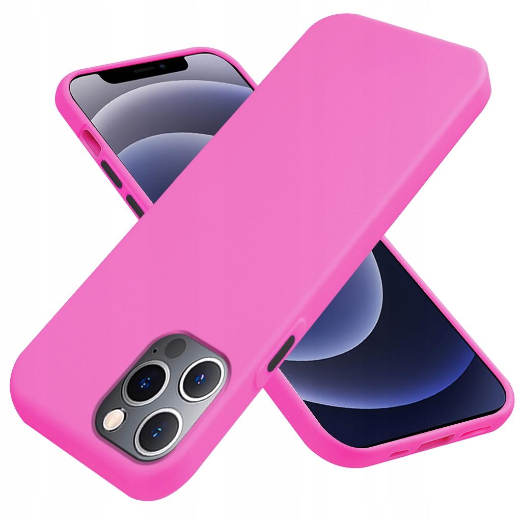Etui do iPhone 12 Pro Case Silikon + Szkło 9H