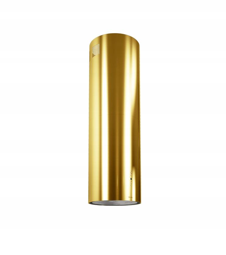 Okap kuchenny CYLINDRO ISOLA 39.4 GOLD
