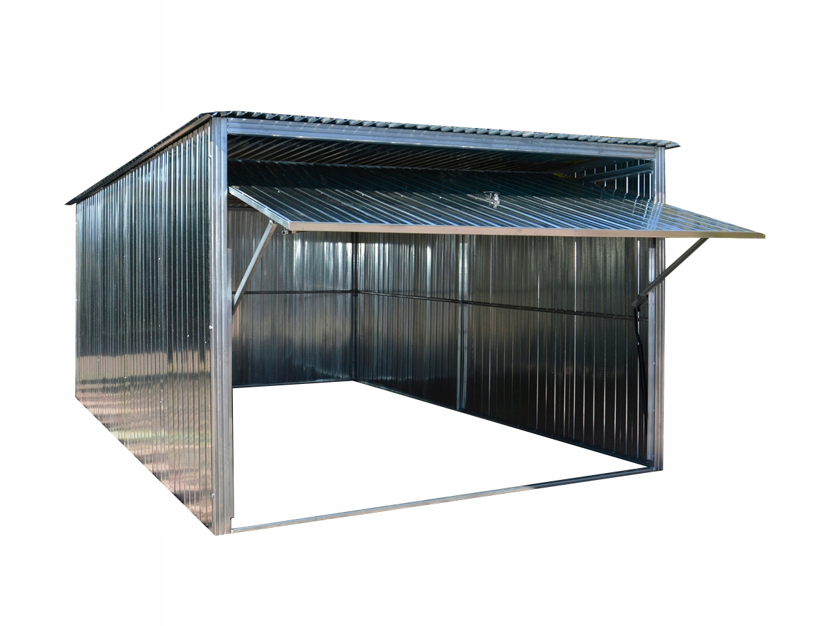 Garaże Garaż blaszany 3x5 blaszak brama uchylna