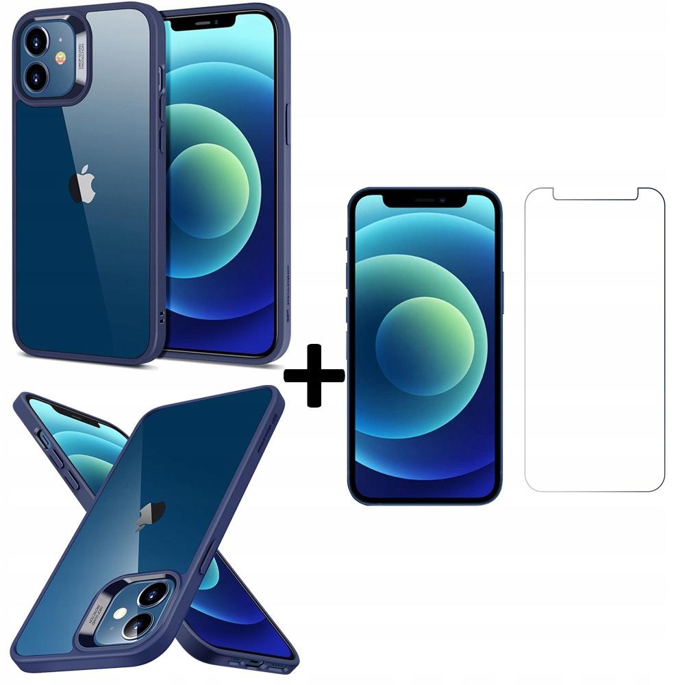 Etui ESR Blue + Szkło Płaskie do iPhone 12 Mini