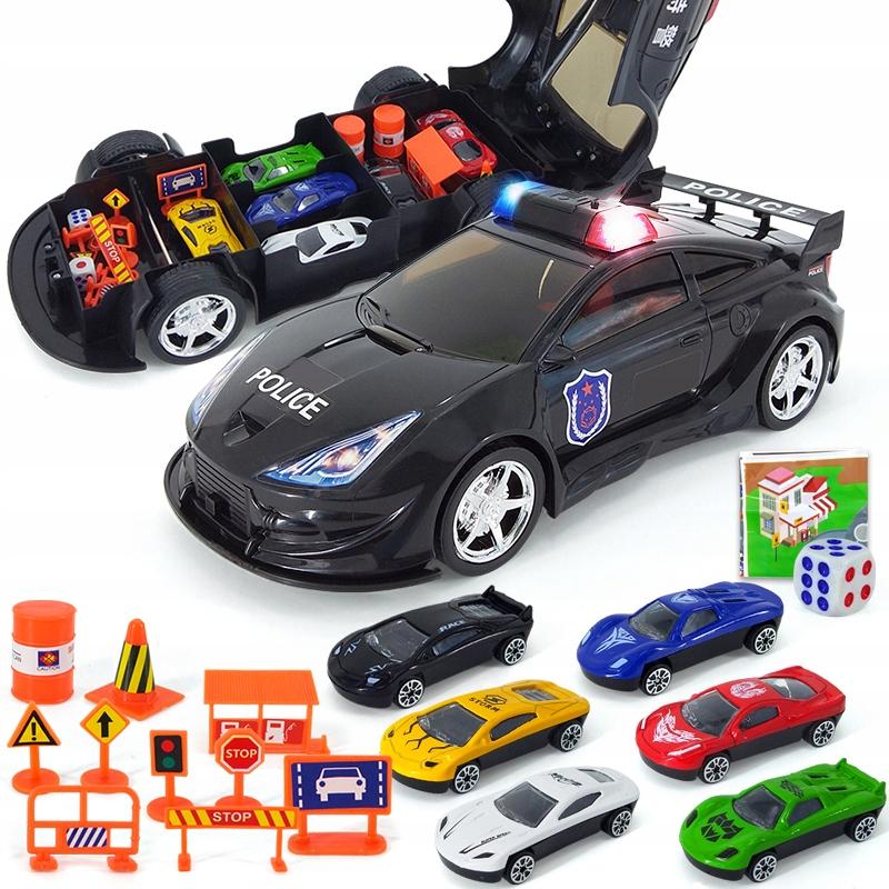 AUTOMATICKÁ POLICAJNÁ AUTOMOBILOVÁ PRÍPADOVÁ AUTOMATIKA + ZNAKY
