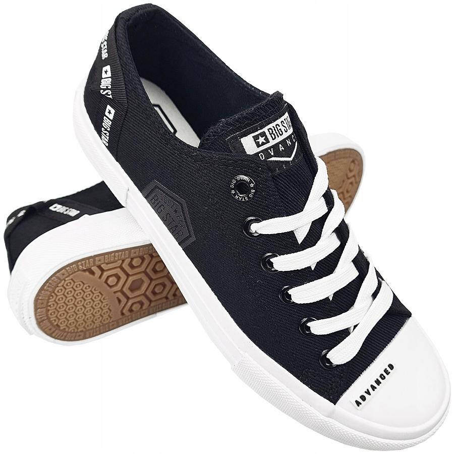 Trampki Big Star damskie czarne buty FF274209 38