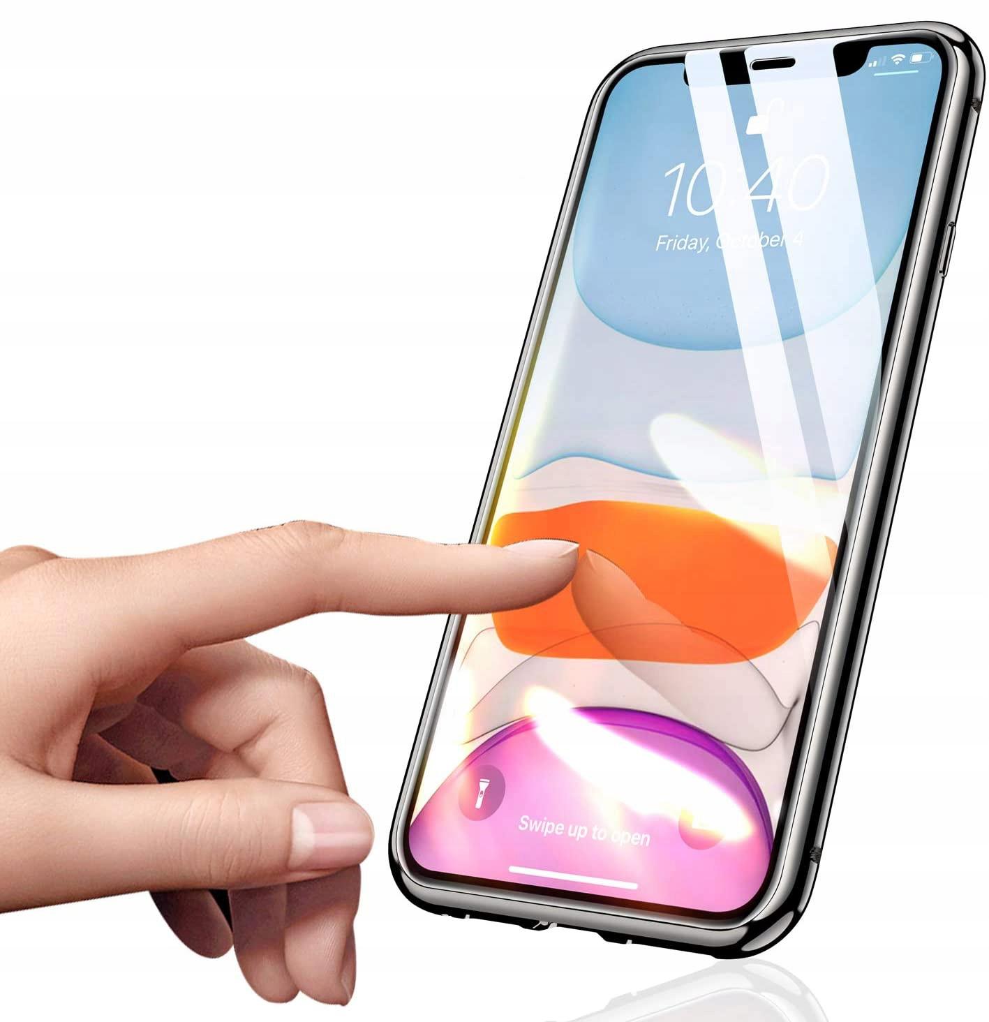 Etui Magnetyczne 360° do iPhone 12 / 12 Pro Kolor czarny