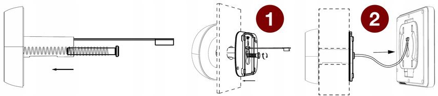 WIZJER CZUJNIK RUCHU kamera wideo LIPKO do drzwi Kod produktu SF550