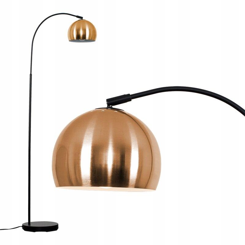 Oblúková podlahová lampa 143 cm RETRO
