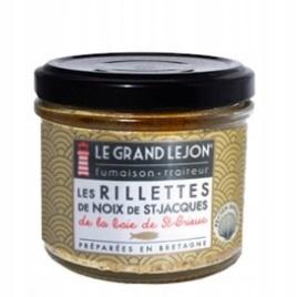 Риллеты из морского гребешка из Сен-Бриё 90г