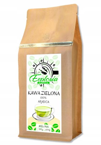 Натуральный молотый зеленый кофе Brazil 1кг
