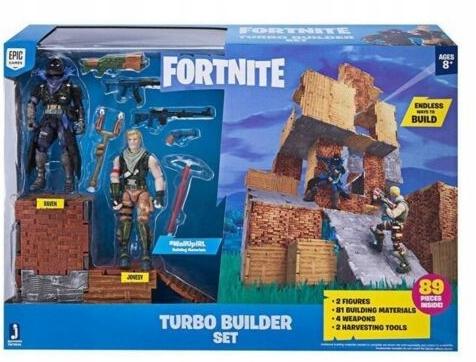 Fortnite -Turbo Builder Raven a Jonesy figúrky