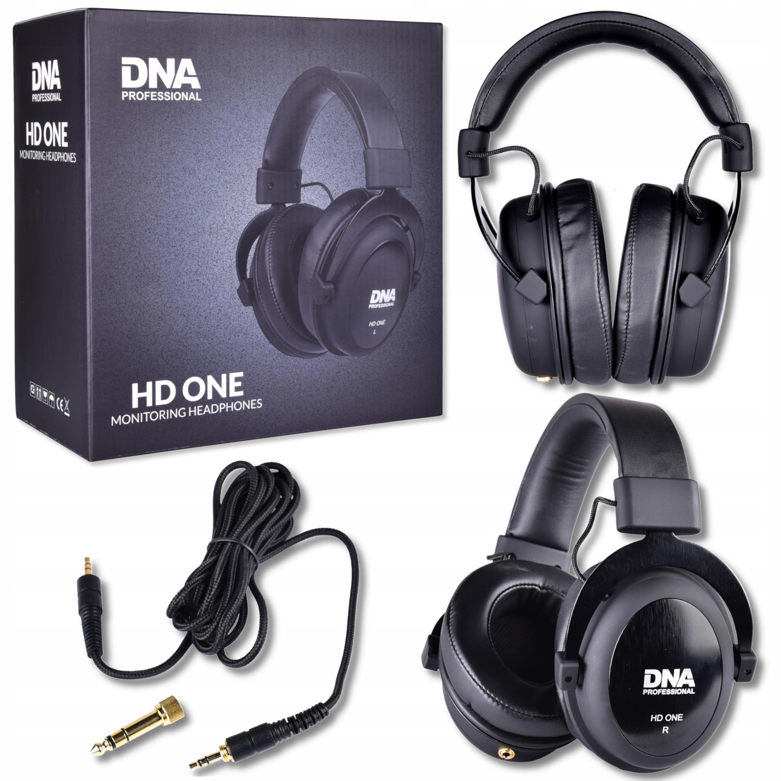 Item DNA HD Studio headphones overhead closed