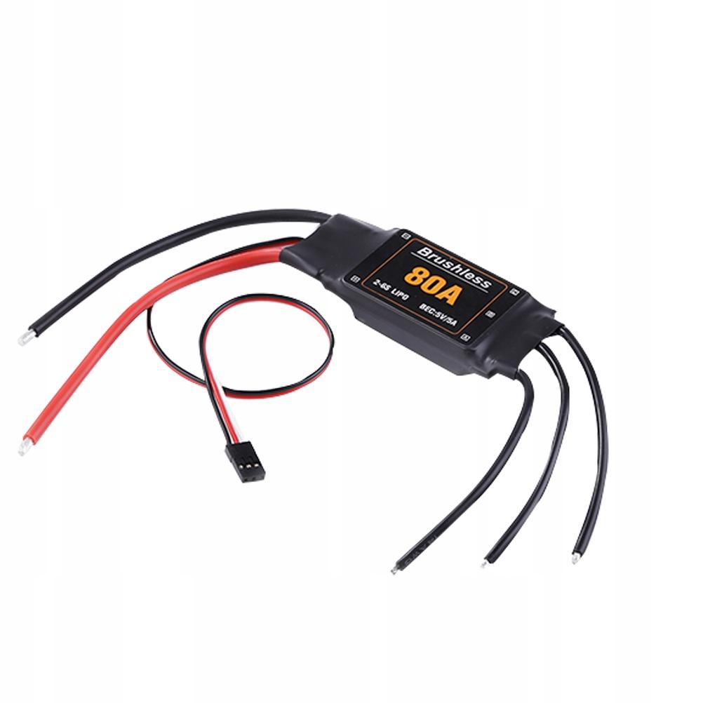 80A Profesionálny bezkartáčový elektrický regulátor