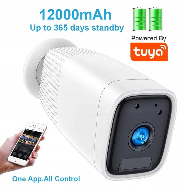 Kamera bezprzewodowa WIFI na baterie , MicroSD, IR