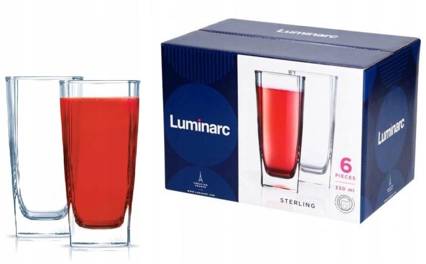 Luminarcter Sterling 6 poháre s vysokým 330ml