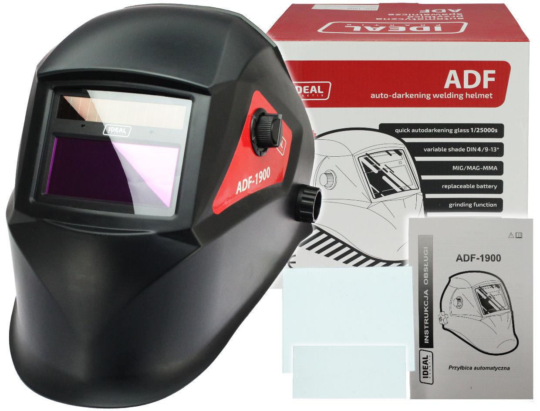 Przyłbica maska samościemniająca LCD ADF1900 IDEAL