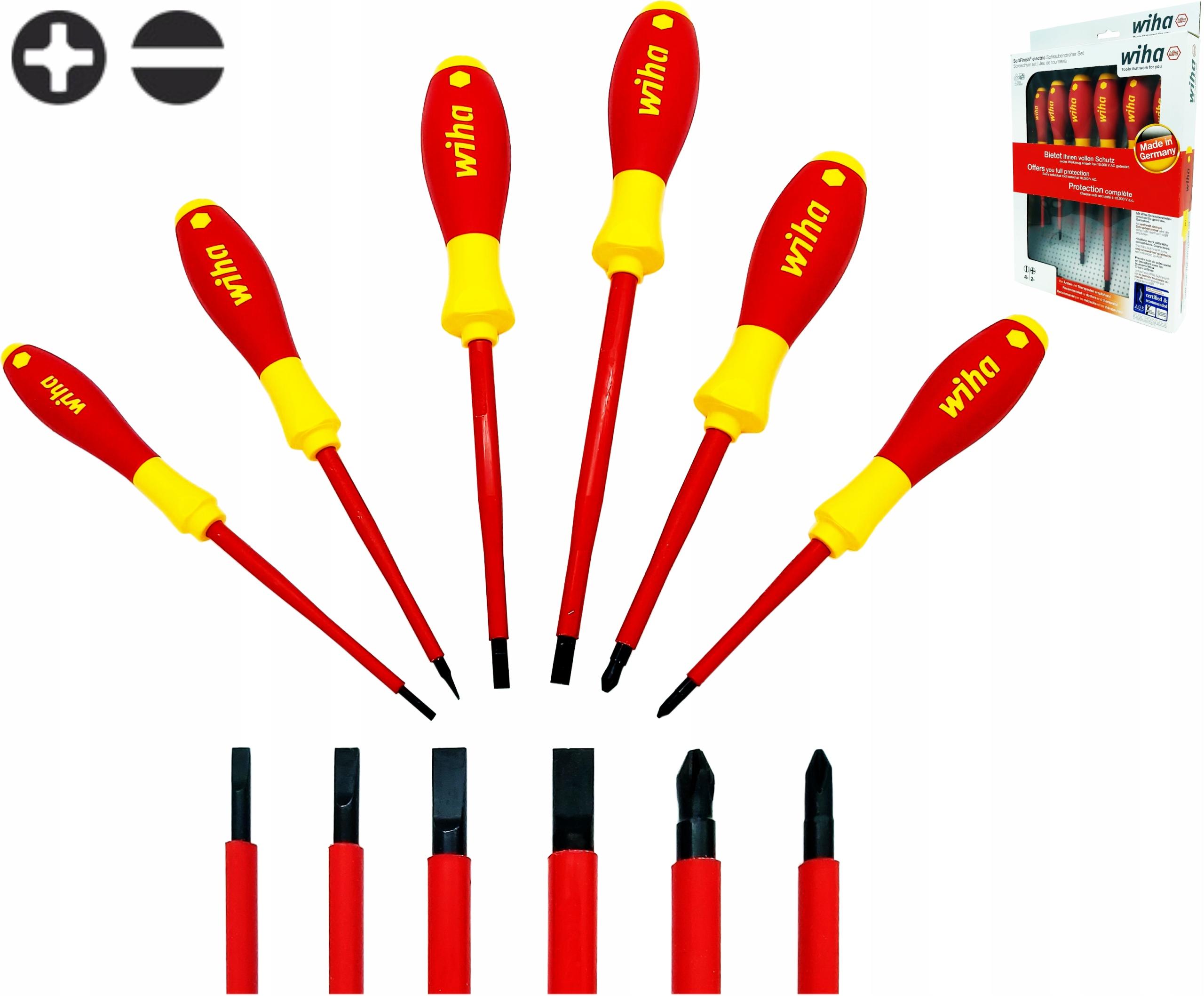 Sada elektrických skrutkovačov SoftFinish slimFix WIHA
