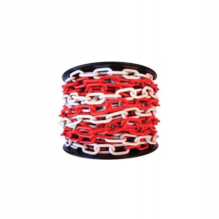 Белая и красная цепь No6 - цена за 1 м