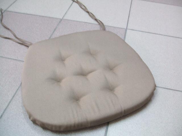 poduszka na krzeslo COPENHAGA PRODUCENT ciemny beż