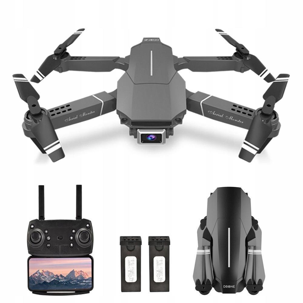 E98 RC Dron z podwójną kamerą Quadcopter WiFi FPV