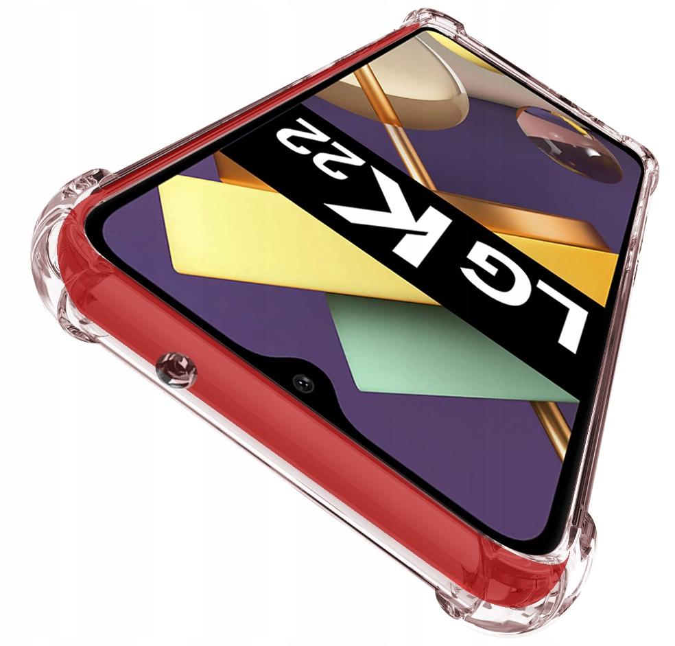 Etui do LG K22 ANTI-SHOCK Case + Szkło 9H Dedykowany model LG K22