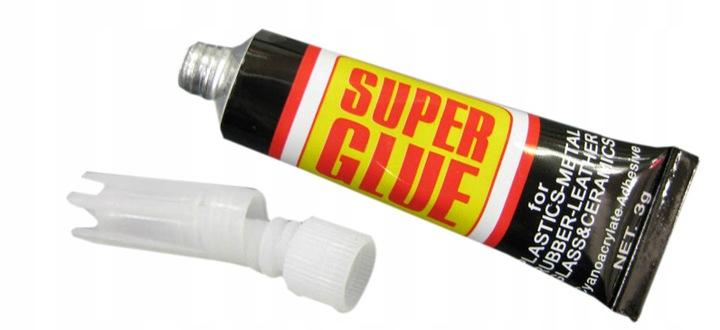 Клей суперклей Cjanopan Blob Strong-12 Туб бренд супер клей