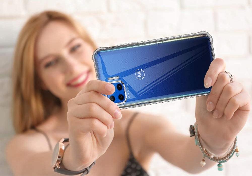 Etui do Motorola Moto G 5G Plus ANTI-SHOCK + Szkło Funkcje pochłanianie wstrząsów