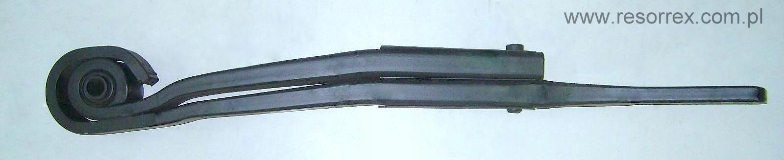 półresor левый задняя панель 2 рессора к подушки scania