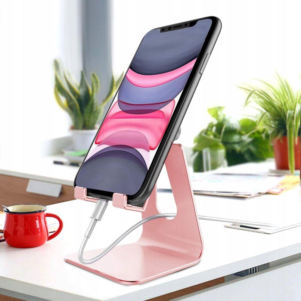 Stojak pod telefon lub tablet Z4A Srebrny Kolor srebrny