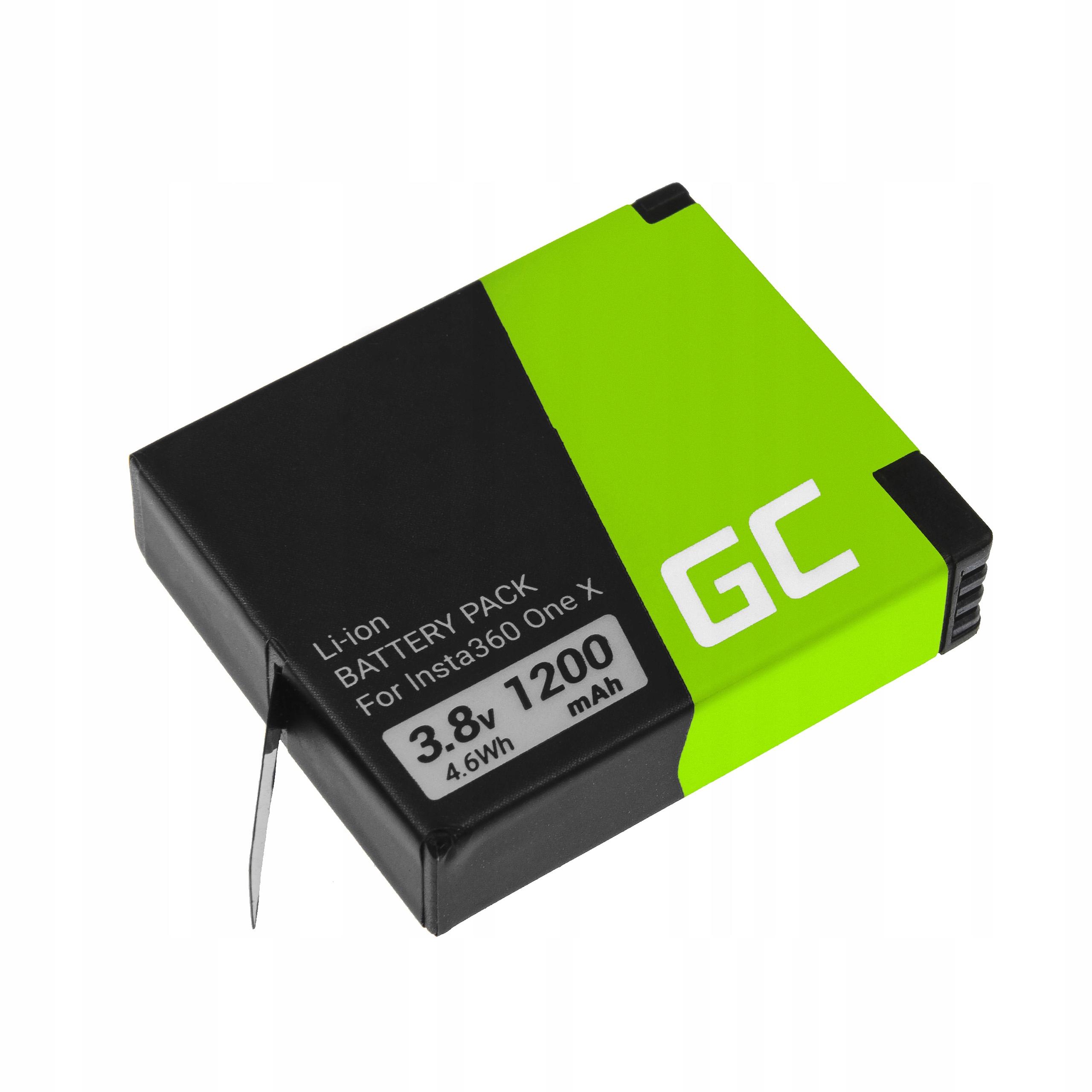 Bateria Akumulator Green Cell do Insta360 ONE X