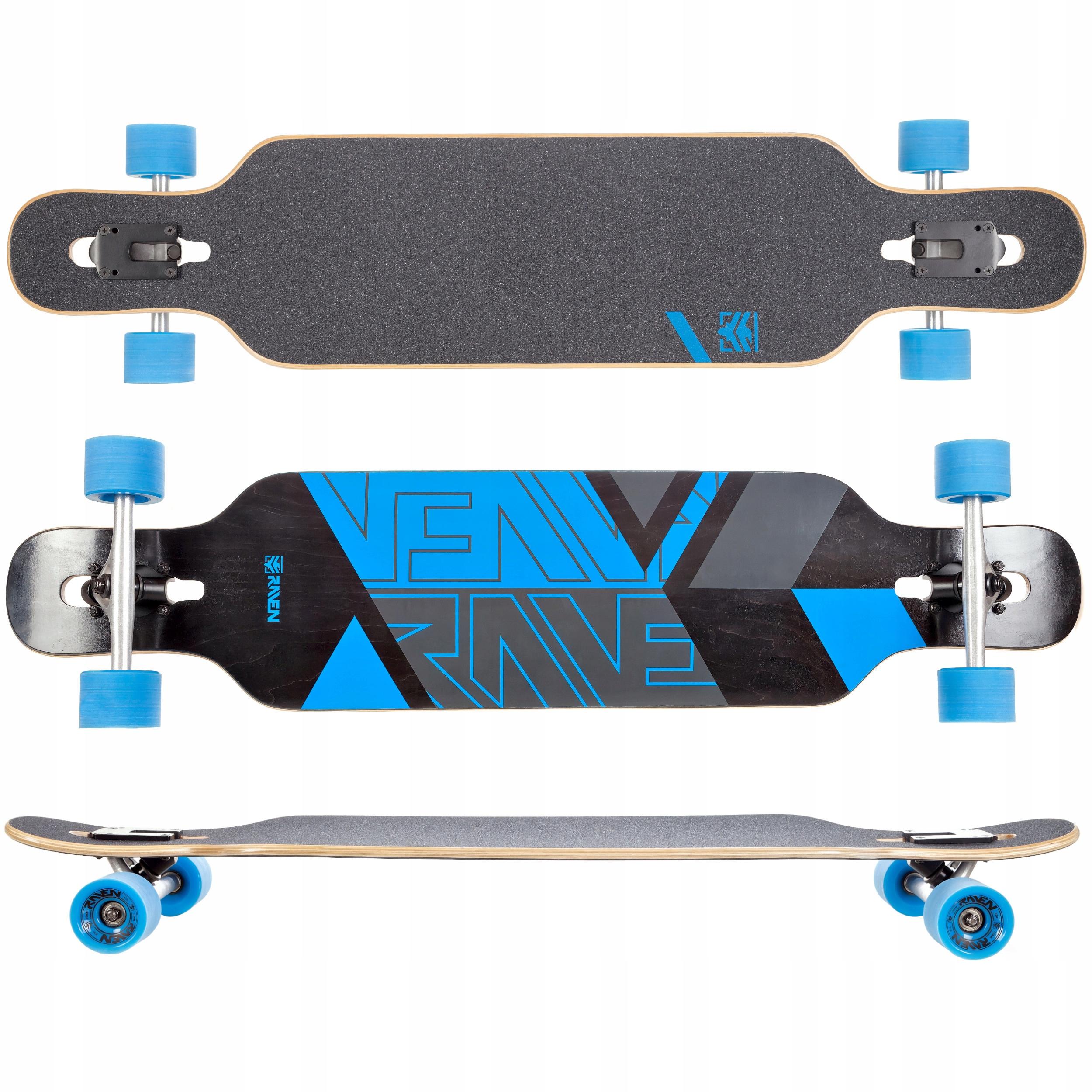 Deskorolka Longboard RAVEN Torex Blue ABEC9