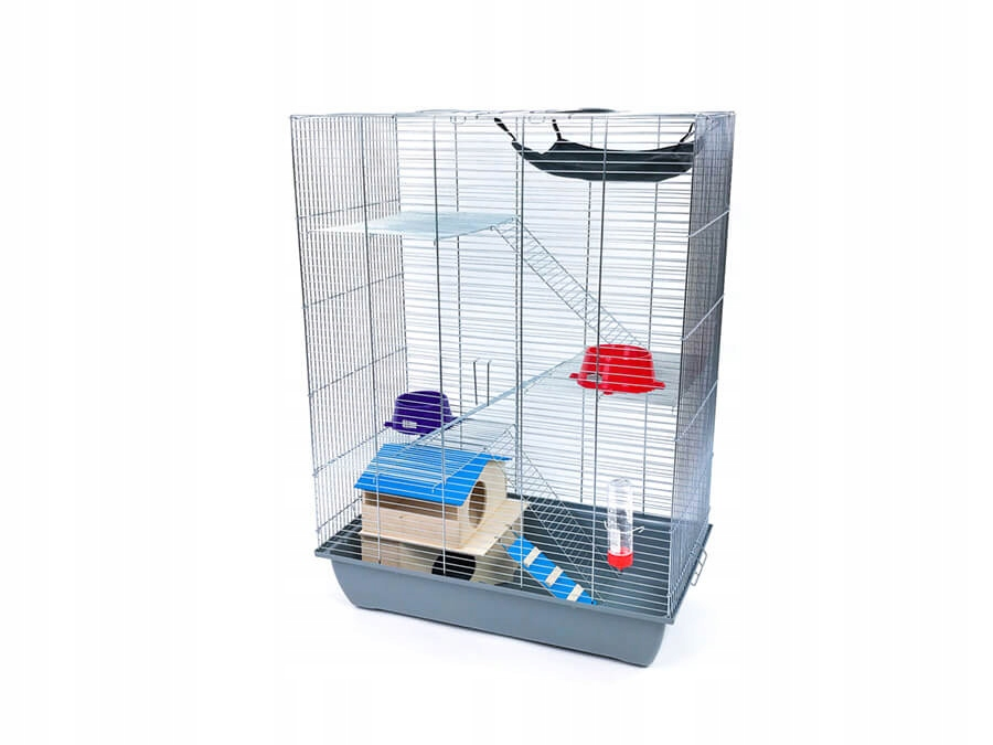 Клетка для хорька, Шиншилла MEGA 4 + HOUSE + HAMMOCK