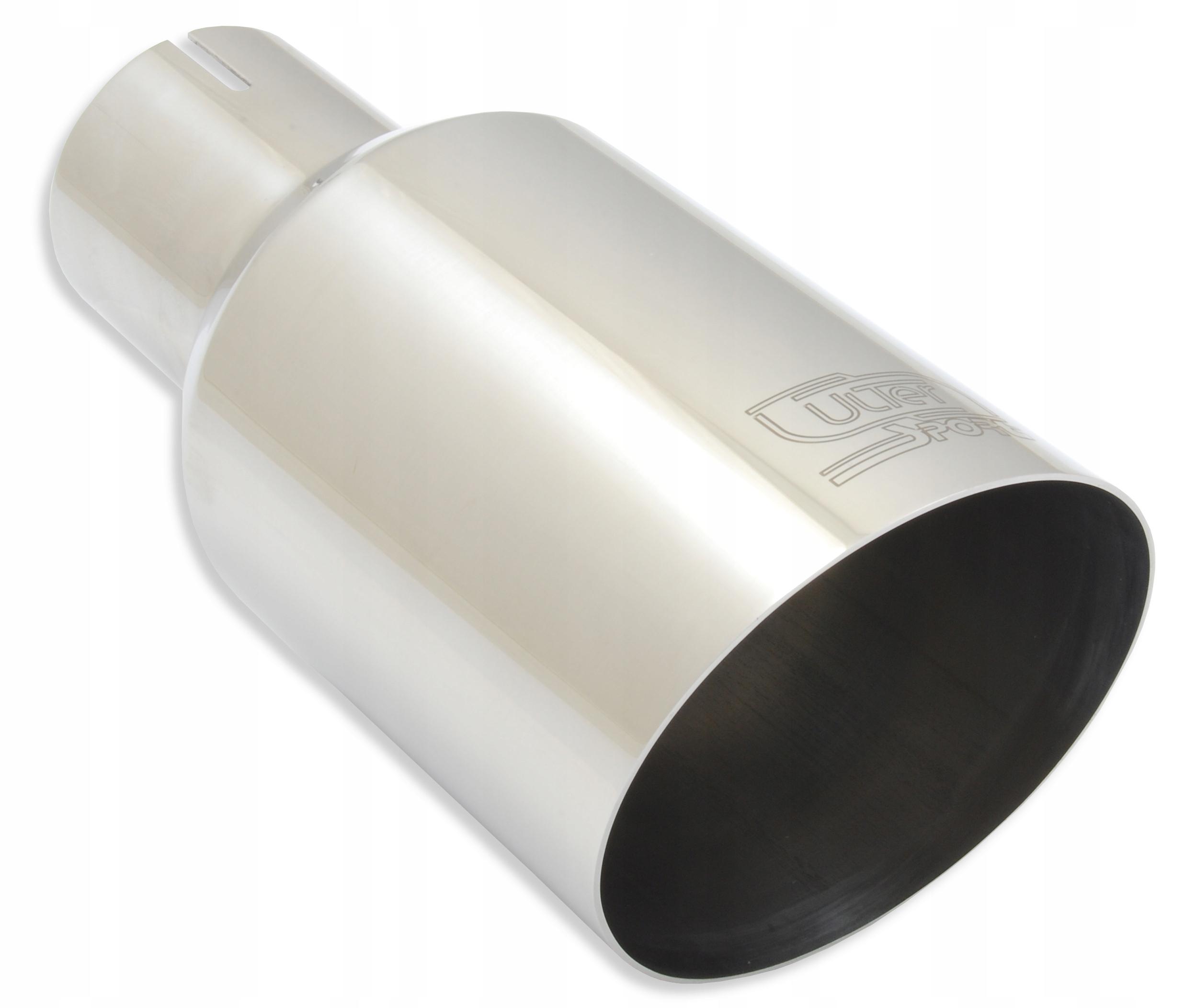 наконечник глушителя выдохе круглая 90 мм