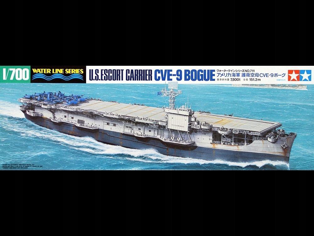 Купить 1/700 US Escort Carrier CVE-9 Bogue Tamiya 31711 на Otpravka - цены и фото - доставка из Польши и стран Европы в Украину.