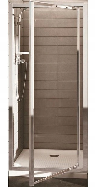 NEMECKÉ sprchové dvere 75x185 SKLÁDACIE sklo