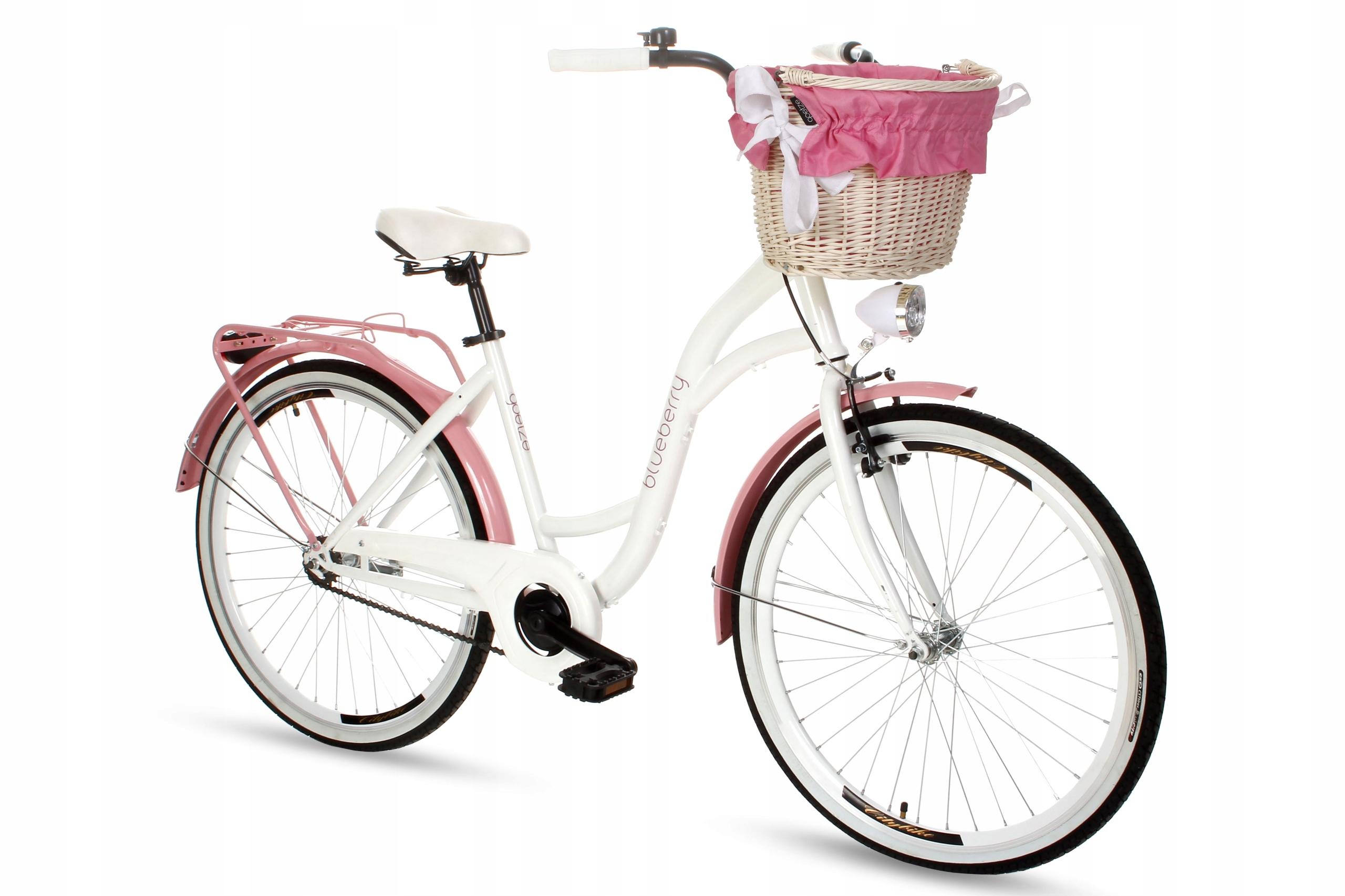 Dámsky mestský bicykel Goetze BLUEBERRY 26 košík!  Farba iná