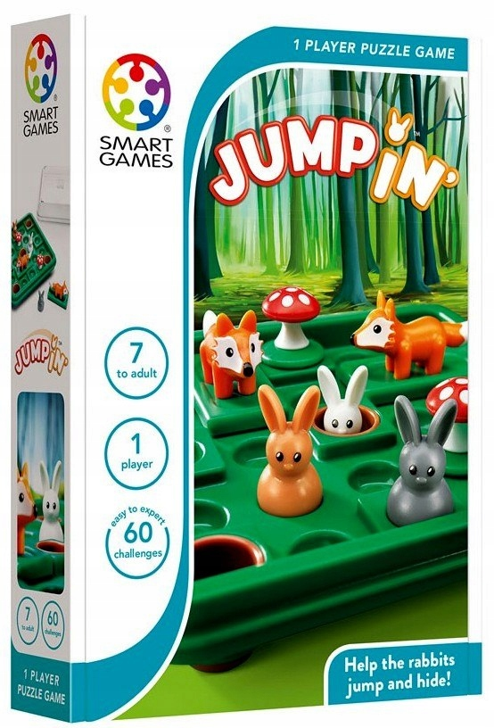 Logická hra Hop to the Mink Smart Games 7+ Logické hry