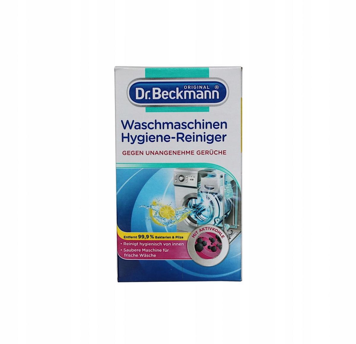 Порошок для очистки стиральной машины Dr Beckmann
