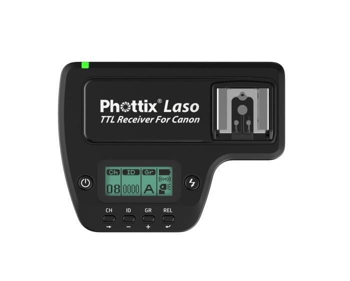 Купить Приемник Phottix Laso TTL Canon на Otpravka - цены и фото - доставка из Польши и стран Европы в Украину.