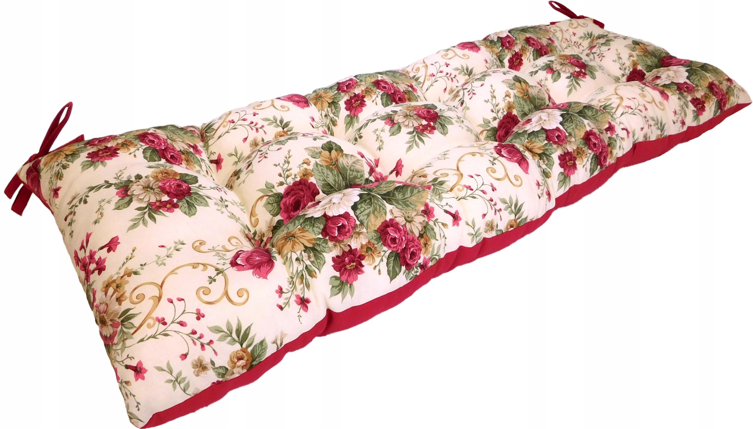 Poduszka na ławkę huśtawkę palety ogrodowa 120x40