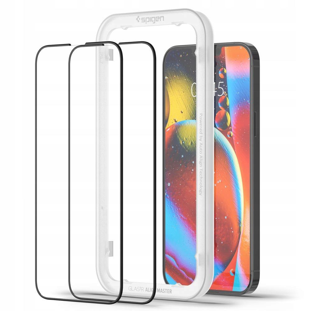 2x Szkło Spigen Alm Glass Fc do iPhone 13 Pro Max EAN 7311064670973