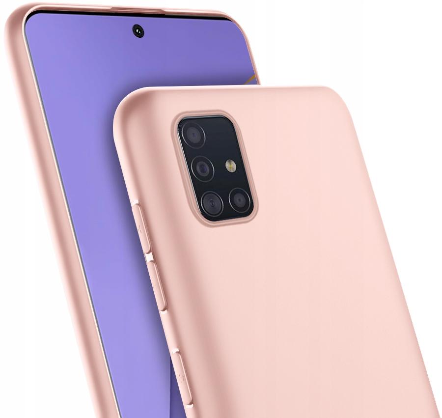 ETUI do Samsung Galaxy A51 CASE MATT + SZKŁO 9H Dedykowany model Samsung Galaxy A51