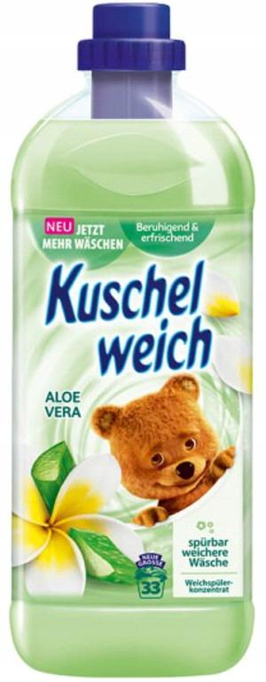 Kuschelweich Жидкость для ополаскивания алоэ вера 1л 33пр DE