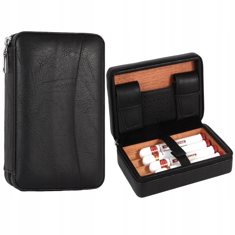 GALINER Leather Wood футляр для сигар-хьюмидора