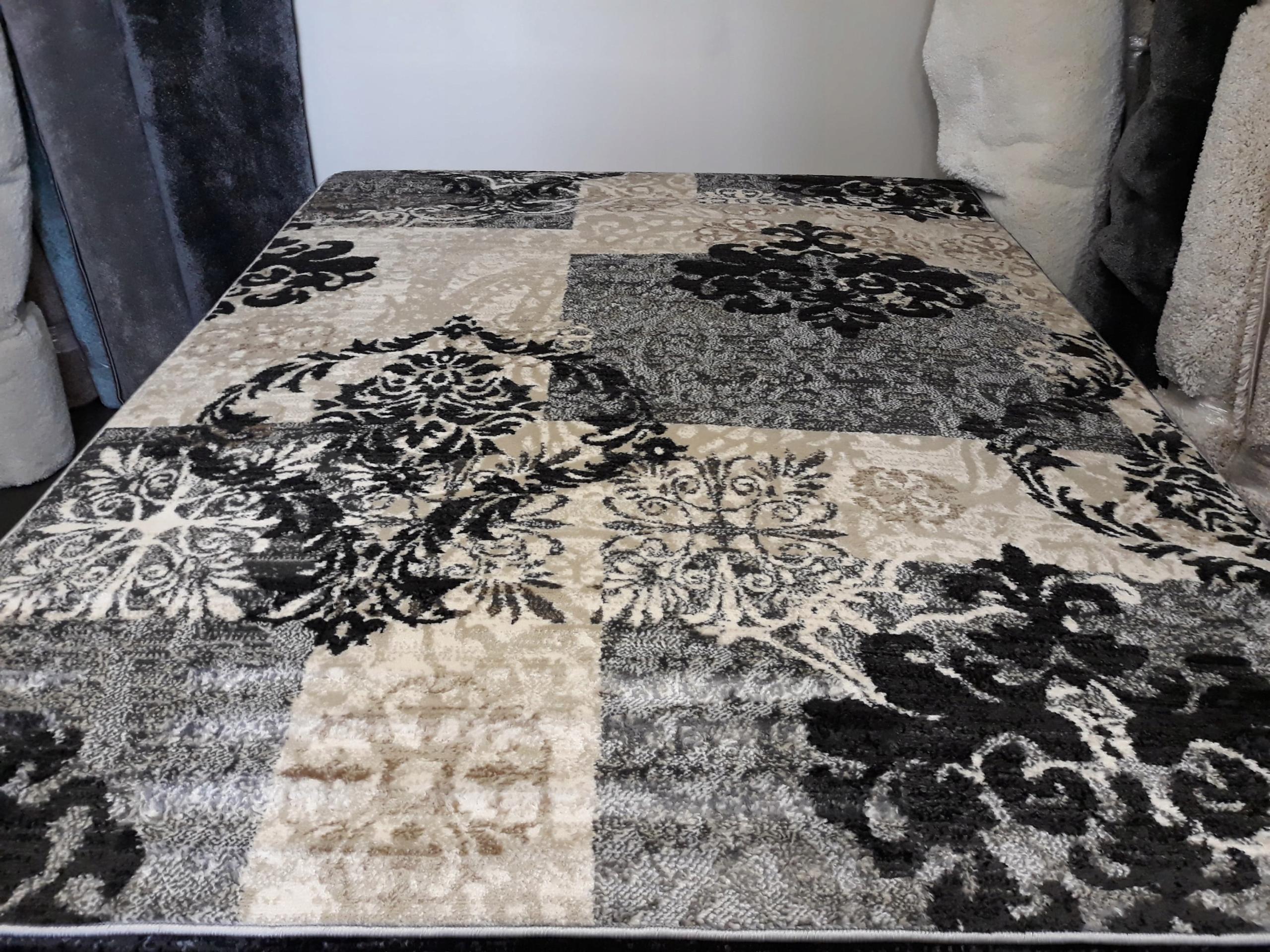 Retro koberec, klasický kráľovský elegantný 160x220