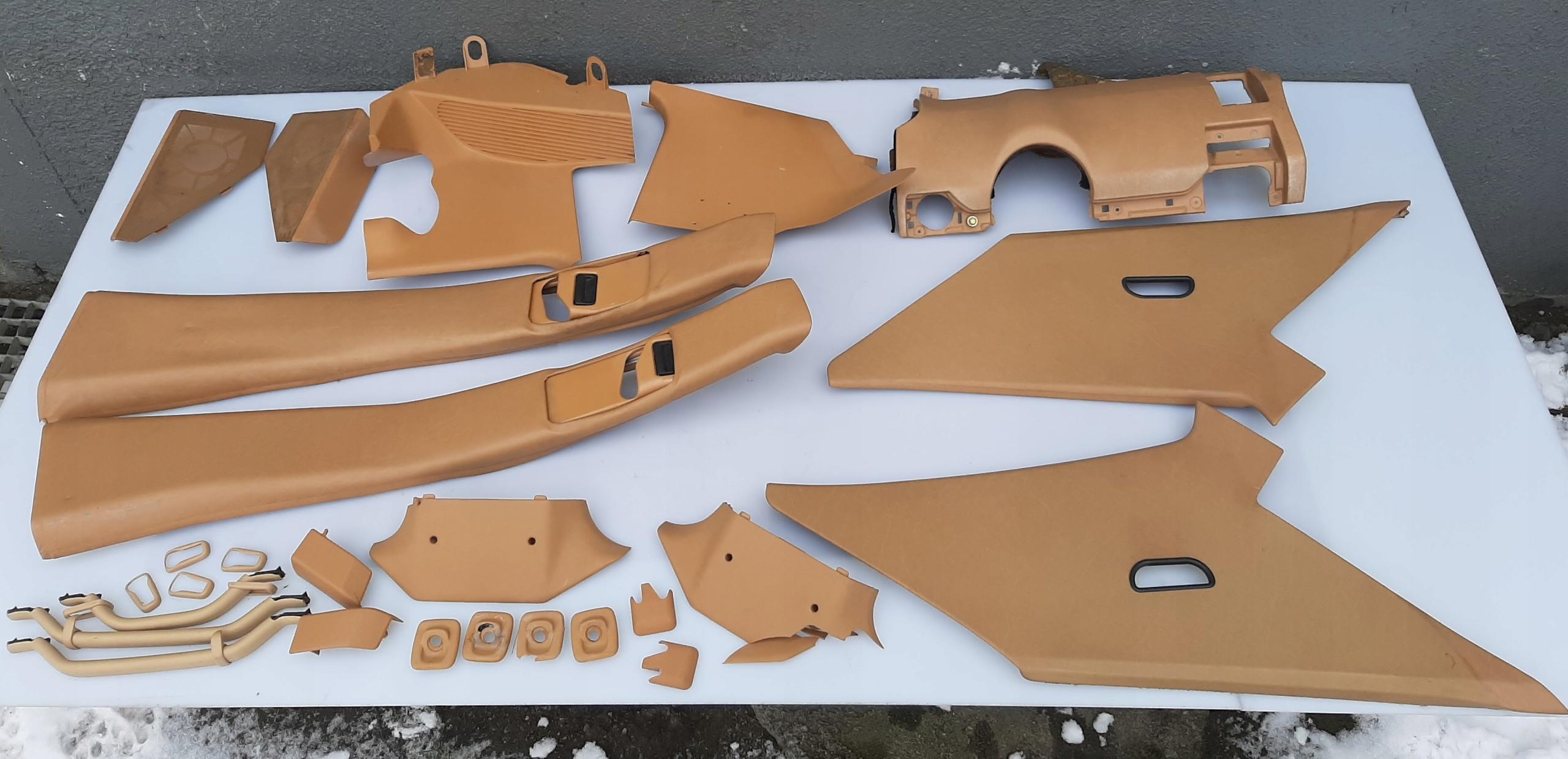 обивка Средство комплект mercedes w124 седан